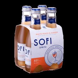 SOFI Spritz White Peach & Ginger 250ml