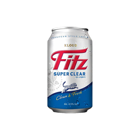 Fitz Super Clear Can 355ml