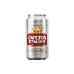 Carlton Draught Cans