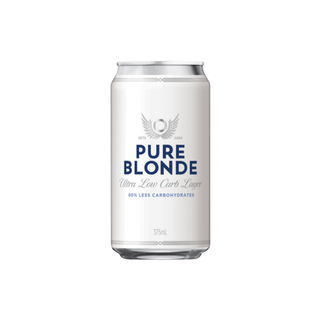 Pure Blonde Cans