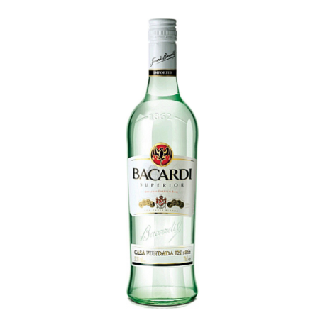 Bacardi Superior White Rum 700ml