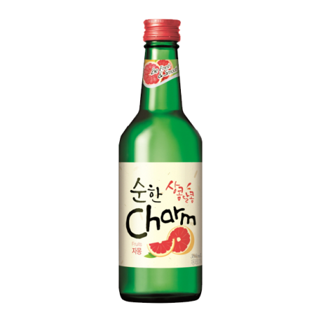 Cham Soju Fruit Cocktail Gapefruit