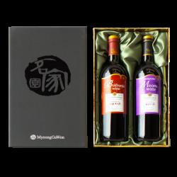 Gift Set (Bokbunja Ju & Meoru wine)