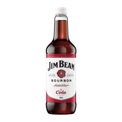 Jim Beam White Label Bourbon and Cola 500mL
