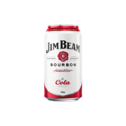 Jim Beam White Label Bourbon and Cola 375mL