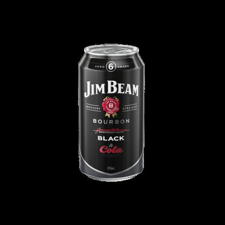 Jim Beam Black Label Bourbon and Cola 375mL