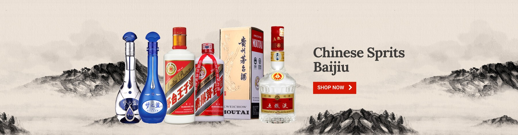 Chinese Sprits/Baijiu