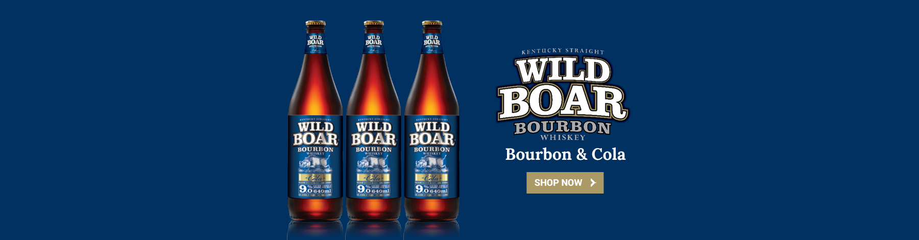 Wild Boar Bourbon & Cola